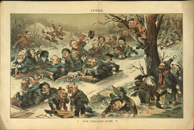 Belva Lockwood Political Cartoons border=